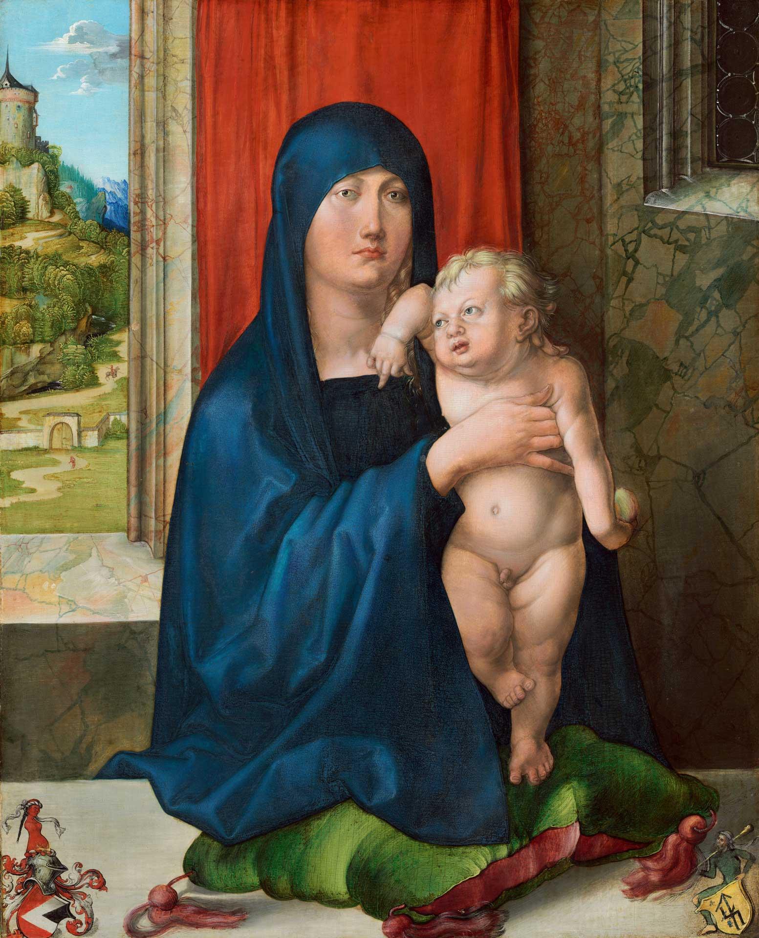 Albrecht Dürer's Madonna and Child