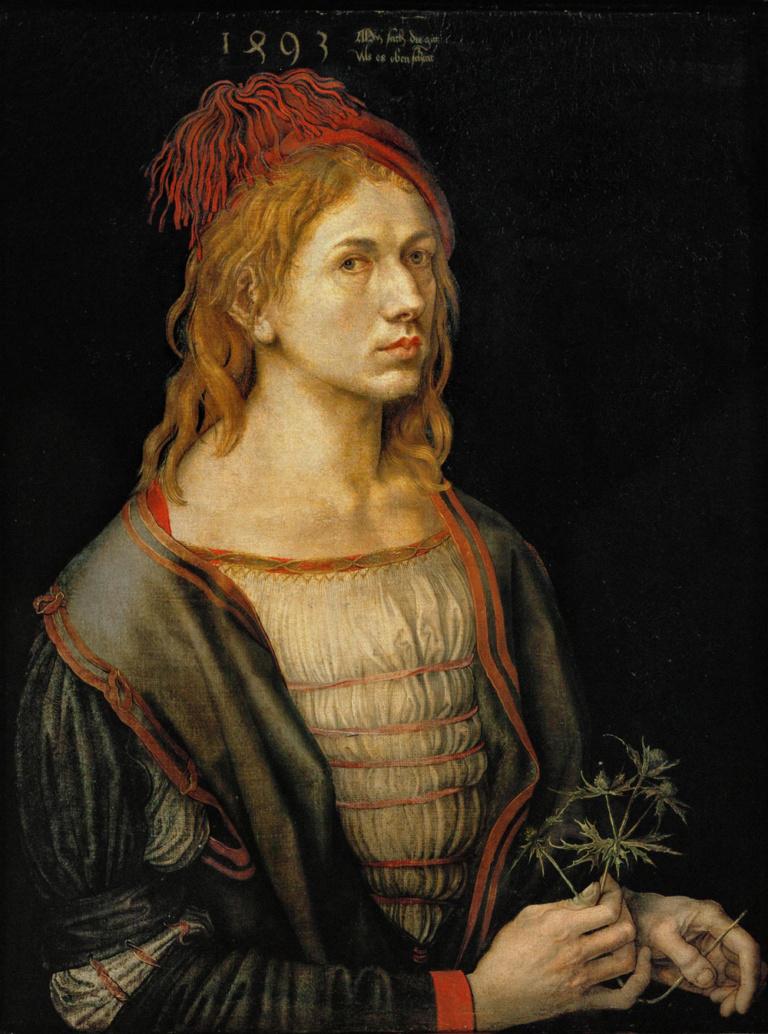 Albrecht Dürer - Self Portrait at Age 22